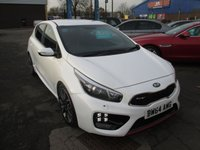 2015 KIA CEED 1.6 GT TECH 5d 201 BHP £10999.00