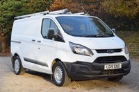 USED 2015 15 FORD TRANSIT CUSTOM 2.2 310 ECONETIC LR P/V 99 BHP