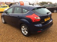 USED 2012 12 FORD FOCUS 1.6 ZETEC 5d 124 BHP AUTOMATIC FULLY AA INSPECTED - FINANCE AVAILABLE