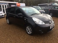 USED 2011 11 NISSAN NOTE 1.4 ACENTA 5d 88 BHP FULL SERVICE HISTORY - FINANCE AVAILABLE