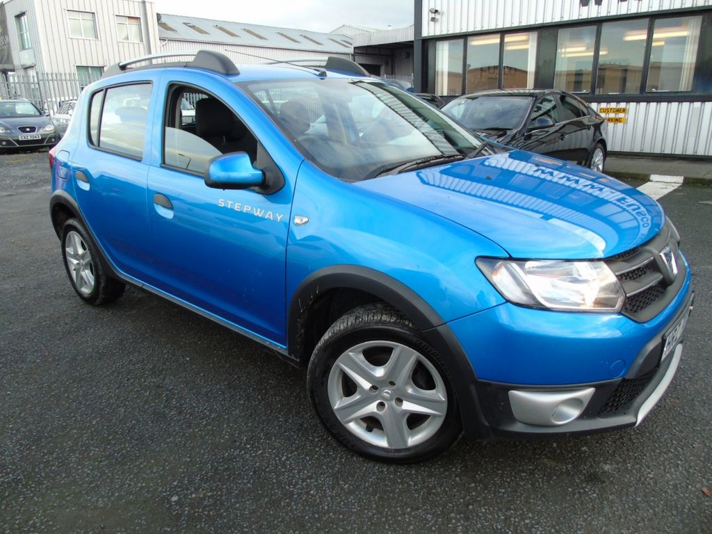 USED 2014 DACIA SANDERO 1.5 STEPWAY LAUREATE DCI 5d 90 BHP £133 a month, T&C'S apply.