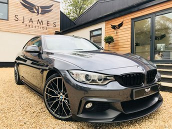 2017 BMW 4 SERIES 2.0 420D M SPORT 2d AUTO 188 BHP £18990.00
