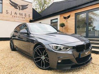 2017 BMW 3 SERIES 2.0 320D M SPORT 4d AUTO 188 BHP £17790.00