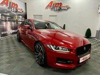 USED 2017 66 JAGUAR XE 2.0 R-SPORT 4d 178 BHP