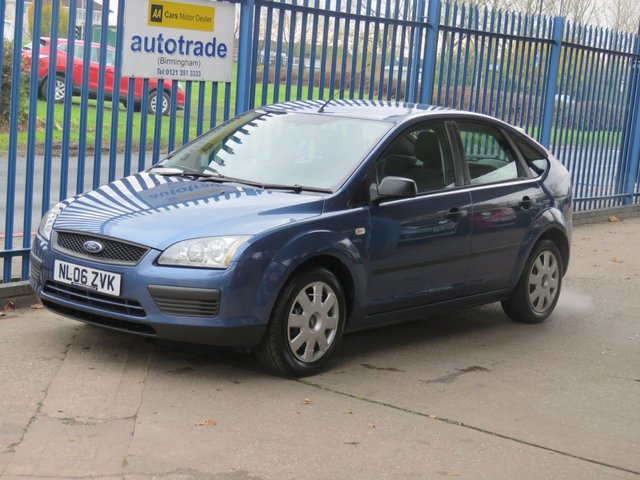 USED 2006 06 FORD FOCUS 1.6 LX 5dr Air con Electric windows CD player Finance arranged Part exchange available Open 7 days