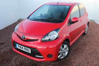 2014 TOYOTA AYGO 1.0 VVT-I MOVE WITH STYLE 5d 68 BHP £5199.00