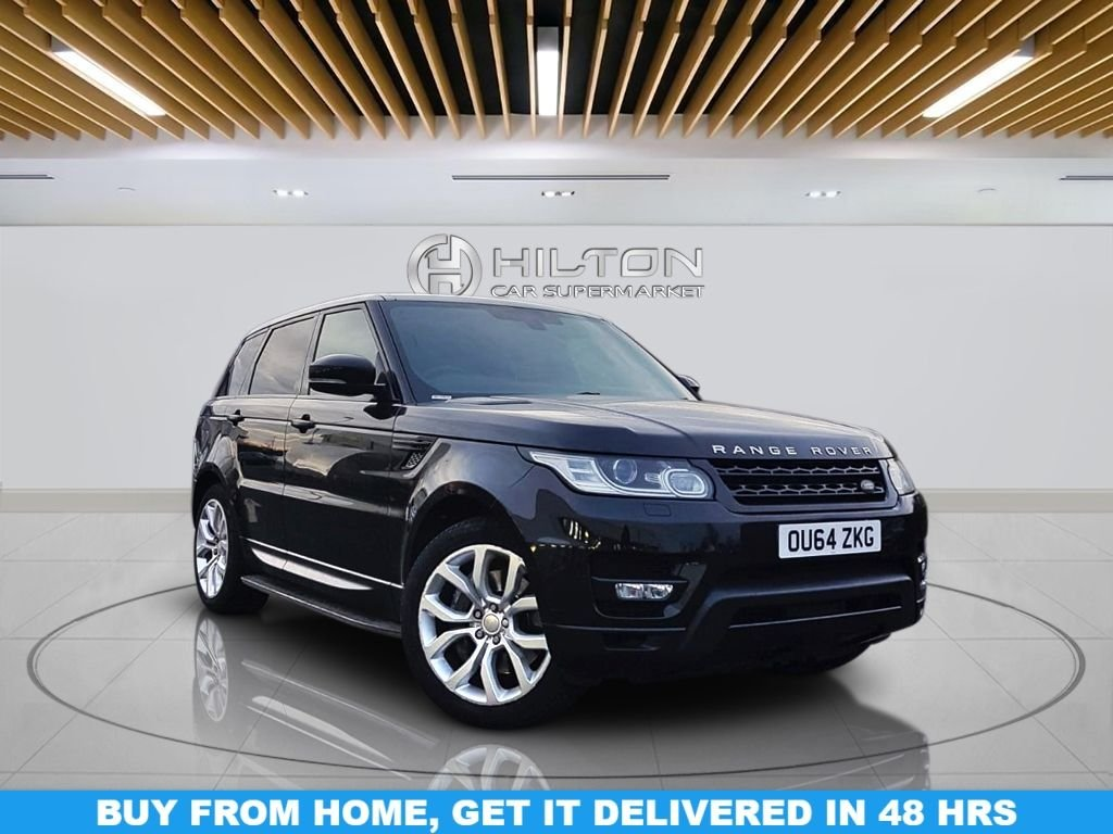 """USED 2014 64 LAND ROVER RANGE ROVER SPORT 3.0 SDV6 HSE DYNAMIC 5d 288 BHP Navigation System, Panoramic Roof, Leather Trim, 21"""" Alloy Wheels, Privacy Glass, Parking Sensor(s), Climate Control"""