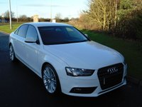 USED 2013 13 AUDI A4 2.0 TDI SE TECHNIK 4d 134 BHP SAT NAV, LEATHER, JUKEBOX