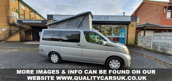 View our NISSAN ELGRAND CAMPER VAN