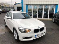 2014 BMW 1 SERIES 1.6 116D EFFICIENTDYNAMICS 5d 114 BHP £7690.00