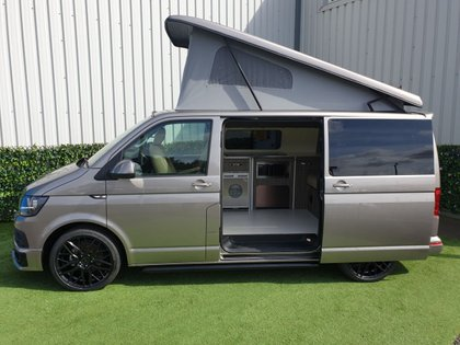 USED 2018 68 VOLKSWAGEN TRANSPORTER 2.0 T28 TDI P/V HIGHLINE  Don't forget our FOC care pack supplied with each vehicle which includes a 12v TV/DVD player, UK & Europe Sat nav, 240v Power cable, Camping Gaz bottle, waste water carrier & a kettle  We can offer excellent finance packages and we take part exchange.  Fell free to contact us for any further information.