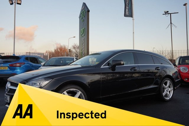 USED 2013 13 MERCEDES-BENZ CLS CLASS 2.1 CLS250 CDI BLUEEFFICIENCY AMG SPORT 5d 202 BHP