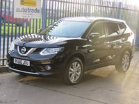 2016 NISSAN X-TRAIL 1.6 DCI ACENTA 5dr Pan roof Cruise Park sensors Bluetooth £12995.00