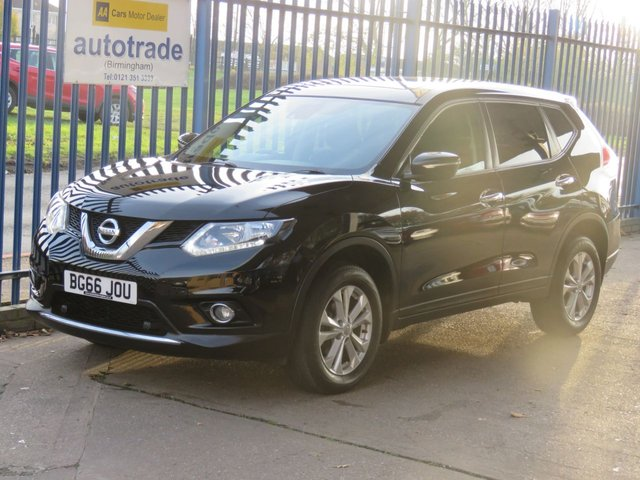 USED 2016 66 NISSAN X-TRAIL 1.6 DCI ACENTA 5dr Pan roof Cruise Park sensors Bluetooth Finance arranged Part exchange available Open 7 days