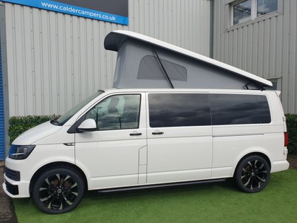 USED 2018 18 VOLKSWAGEN TRANSPORTER 2.0 T28 TDI TRANSPORTER CAMPERVAN Don't forget our FOC care pack supplied with each vehicle which includes a 12v TV/DVD player, UK & Europe Sat nav, 240v Power cable, Camping Gaz bottle, waste water carrier & a kettle  We can offer excellent finance packages and we take part exchange.  Fell free to contact us for any further information.