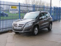 USED 2010 60 VOLKSWAGEN TIGUAN 2.0 S TDI BLUEMOTION TECHNOLOGY 5d 140 BHP