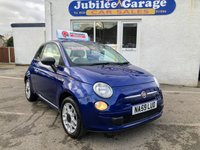 USED 2009 59 FIAT 500 1.2 POP 3d 69 BHP 35224 Miles, Full History, 12 Months MOT!