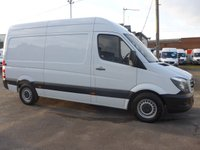 USED 2015 65 MERCEDES-BENZ SPRINTER 313 CDI MWB HI ROOF, 130 BHP [EURO 5]
