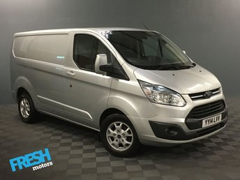 2014 FORD TRANSIT CUSTOM 2.2 270 LIMITED L1H1 124 BHP £9000.00