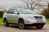 USED 2003 53 LEXUS RX 3.0 300 SE 5d 204 BHP Sunroof,  Electric Memory Seats, Cruise Control,  Just Been Serviced & MOT November 2020