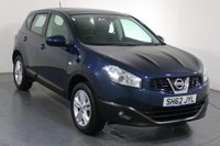 USED 2012 62 NISSAN QASHQAI 1.6 ACENTA 5d 117 BHP Demo and 2 LADY OWNERS with 4 Stamp SERVICE HISTORY
