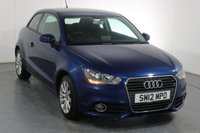 USED 2012 12 AUDI A1 1.4 TFSI SPORT 3d 122 BHP ONE OWNER with 5 Stamp SERVICE HISTORY