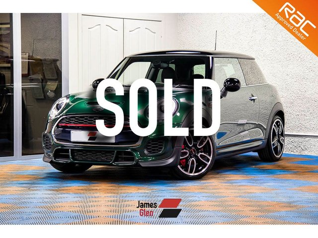 USED 2016 16 MINI HATCH JOHN COOPER WORKS 2.0 JOHN COOPER WORKS 3d 228 BHP One Owner   Two Service Stamps