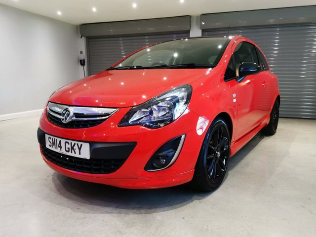 "USED 2014 14 VAUXHALL CORSA LIMITED EDITION LOW MILEAGE + BLUEOOTH + 17"" GLOSS BLACK ALLOYS"