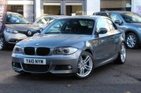 USED 2010 10 BMW 1 SERIES 125I 3.0 M SPORT AUTO 2DR COUPE 215 BHP HUGE SPEC MUST SEE ** FSH **