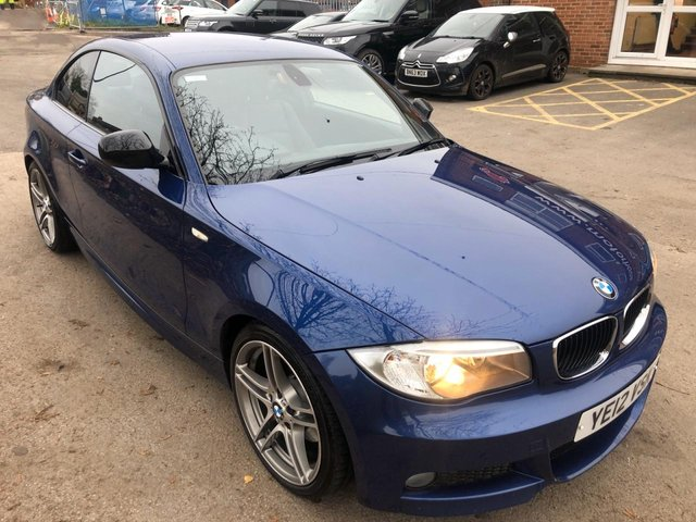 USED 2012 12 BMW 1 SERIES 2.0 120D SPORT PLUS EDITION 2d 175 BHP EXCELLENT EXAMPLE WITH SERVICE HISTORY, ALLOY WHEELS, PARK SENSORS, HEATED L;EATHER SEATS, CRUISE CONTROL, CLIMATE CONTROL