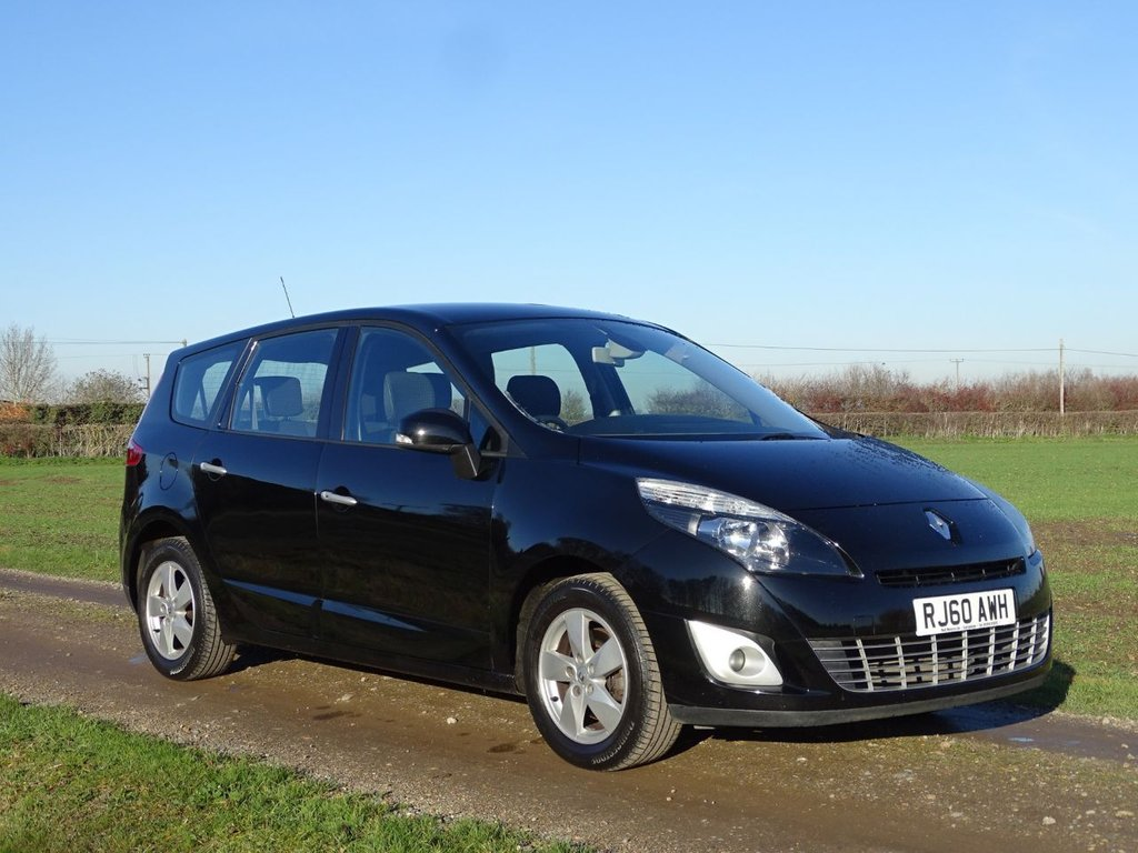USED 2010 60 RENAULT SCENIC 1.5 DYNAMIQUE TOMTOM DCI FAP 5d 110 BHP