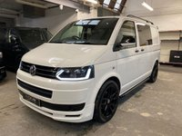 USED 2014 64 VOLKSWAGEN TRANSPORTER 2014/64 Volkswagen Transporter T5.1 Custom Kombi 160ps Finance arranged with HP plans available from no deposit and upto ten years.