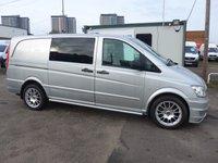 2014 MERCEDES-BENZ VITO 116 CDI 5 SEATER DUALINER, 163 BHP [EURO 5] AUTOMATIC £11495.00