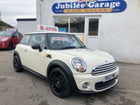 "USED 2012 05 MINI HATCH ONE 1.6 ONE 3d 98 BHP Low Miles, Bluetooth, 17"" Alloys, 12 Months MOT inc!"