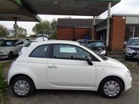 2014 FIAT 500 1.2 POP 3d 69 BHP ONE FORMER KEEPER