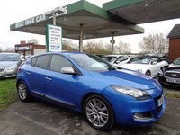 USED 2011 61 RENAULT MEGANE 1.5 GT LINE TOMTOM DCI ECO 5d 110 BHP
