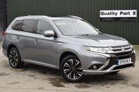 2016 MITSUBISHI OUTLANDER 2.0h 12kWh GX4h CVT 4WD (s/s) 5dr £13480.00