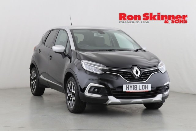 View our 2018 18 RENAULT CAPTUR 0.9 SIGNATURE X NAV TCE 5d 90 BHP