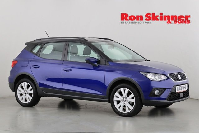 View our 2019 68 SEAT ARONA 1.6 TDI SE TECHNOLOGY LUX 5d 114 BHP