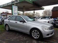 2009 MERCEDES-BENZ C CLASS 1.6 C180 KOMPRESSOR BLUEEFFICIENCY SE 4d 156 BHP £4295.00