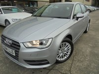 USED 2015 64 AUDI A3 1.6 TDI SE TECHNIK 5d 109 BHP FSH, One Owner, Excellent Condition, No Deposit No Fee Finance Available