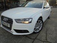 2014 AUDI A4 2.0 TDI SE TECHNIK 4d 174 BHP £10950.00