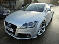 USED 2012 62 AUDI TT 1.8 TFSI S LINE 2d 158 BHP Excellent Low Mileage, FSH, One Owner, No Deposit Finance, Part Ex Welcomed