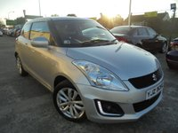 USED 2016 SUZUKI SWIFT 1.2 SZ3 3d 94 BHP Low Rate Finance Available, Low Insurance, Excellent Condition, Superb First Time Buy, One Owner