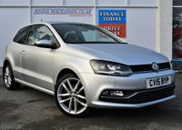 USED 2015 15 VOLKSWAGEN POLO 1.2 SEL TSI DSG 3d 109 BHP **FULL SERVICE HISTORY**