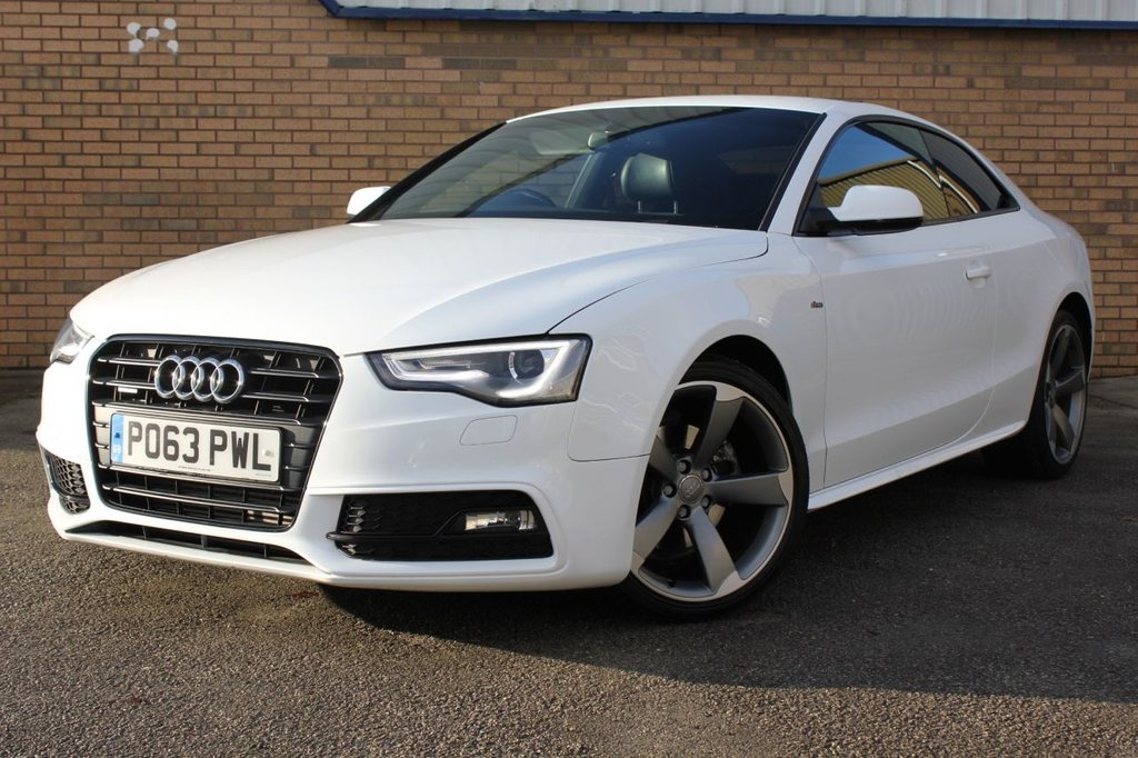 USED 2013 63 AUDI A5 2.0 TDI QUATTRO BLACK EDITION S/S 2d 174 BHP Stunning Audi A5 Coupe, boasting Black Edition Styling & Quattro Technology!