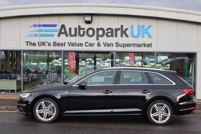 USED 2016 66 AUDI A4 AVANT TDI S LINE LOW DEPOSIT OR NO DEPOSIT FINANCE AVAILABLE