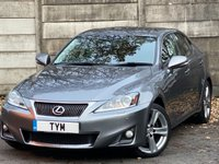 USED 2012 12 LEXUS IS 2.5 250 ADVANCE 4d 205 BHP