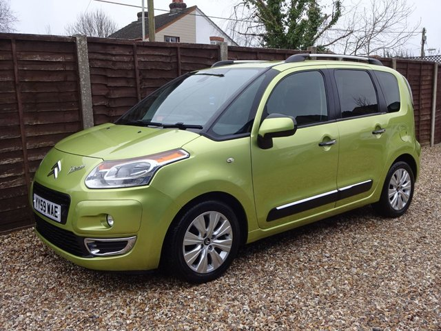 USED 2009 59 CITROEN C3 PICASSO 1.6 HDi EXCLUSIVE LONG MOT, 6 MONTHS WARRANTY