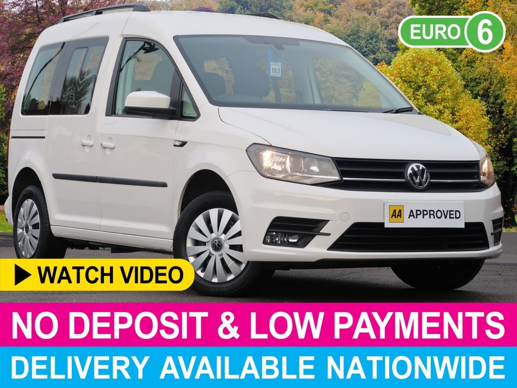 USED 2016 66 VOLKSWAGEN CADDY 2.0 TDI 7 SEAT MPV WITH AIR CON 5DR 7 SEATS AIR CON BLUETOOTH